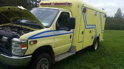 2009 Ford E-Series Van Base Stripped Chassis 4x4 ambulance 2009 Ford E-350 Super Duty