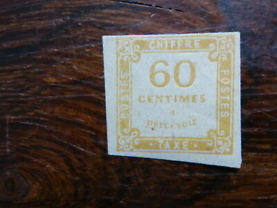 FRANCE  Timbres taxes  N° 8  A authentifier Voir scan
