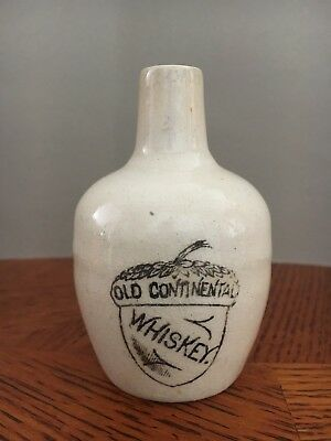 Old Continental Whiskey Miniature Advertising Jug