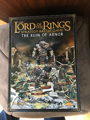 LOTR  The Ruin of Arnor  Paperback Strategy battle game book