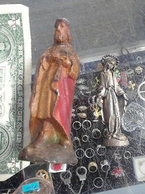 2 catholic art collectable vintage