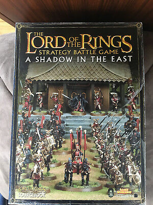 LOTR  A Shadow in the East  Paperback Strategy battle game book