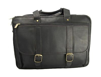 David King & Co. Expandable Laptop Briefcase Cafe One Size