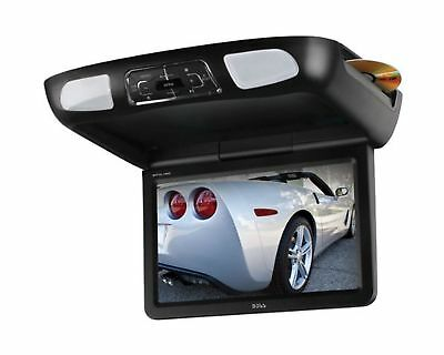 BOSS AUDIO BV10.1MC 10.1 inch Widescreen Flip down & Swivel Monitor with DVD ...