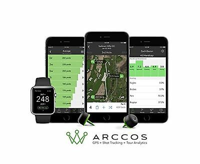 Arccos Golf Real-Time GPS & Golf Stat Tracking System