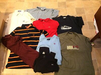 Job lot Lacoste, Fred perry, burbury