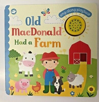 New, Old MacDonald Had a Farm Sing-along Sound Book, For Children Ages 0 Month+