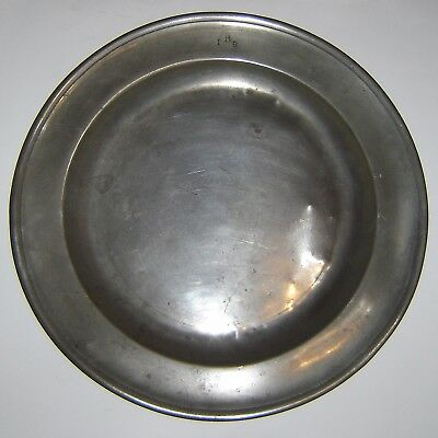 Very Large Antique Charger Plate
