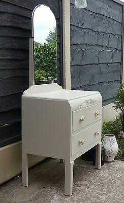 Lovely Shabby Chic Dressing Table Hand Painted  ~~ Unique ~~