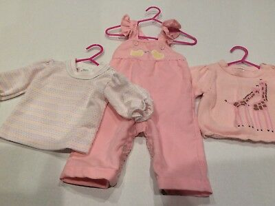 Vintage 2 Piece Girls 6 Month Health-tex Unused Made USA With Gymboree Sweater