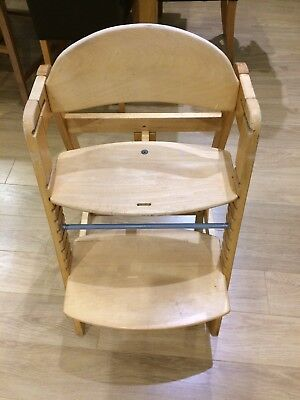 Hauck Wooden Highchair