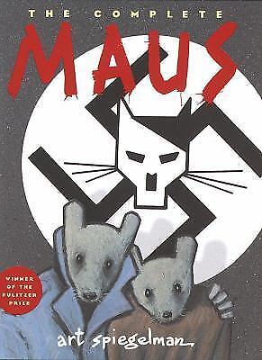 The Complete Maus: A Survivor's Tale by Art Spiegelman Hardcover Book (English)