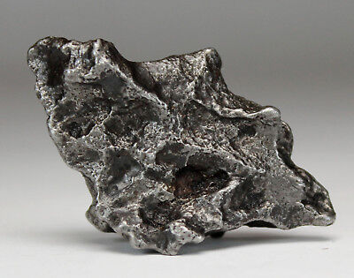 Sikhote-Alin 29.5g Meteorite With Excellent Surface Features Lots of Regmaglypts
