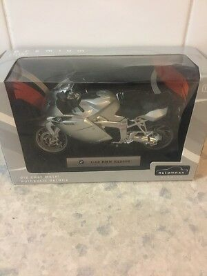 Automaxx Premium Die Cast Metal Authentic Details 1:12 BMW K1200S New