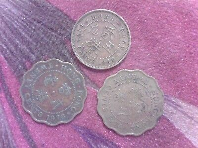 Hong  Kong   5  Cents   1949     20  Cents  1975   1978