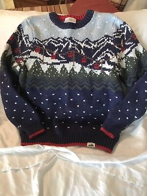 Hanna Andersson Winter Youth Boys Sweater Size 130