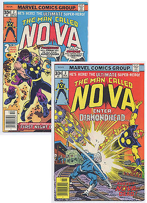 Nova #2 & #3 (1976) Marvel 2 Issue Lot, See the Scans for condition