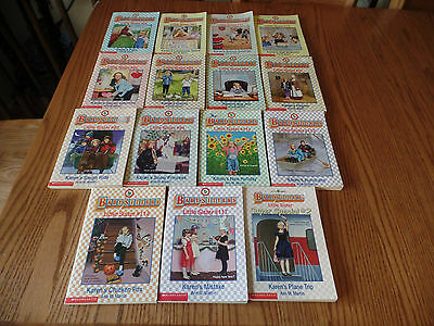Babysitters Little Sister book lot of 15 by Ann M. Martin - Super Special #2