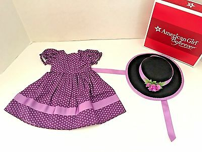 American Girl Addy's Sunday Best  Dress Hat  Brand NEW in AG Box