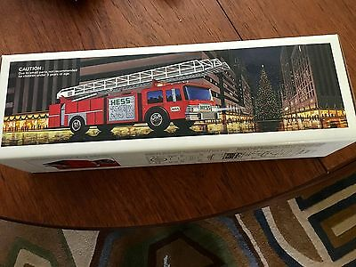Hess  Hook And Ladder Fire Truck  New In The Box Never Used