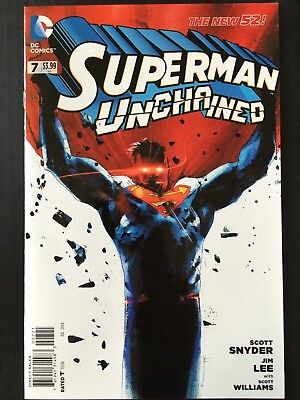 DC New 52 Superman Unchained 7B Jock 1:25 Retailer Incentive Variant - NM