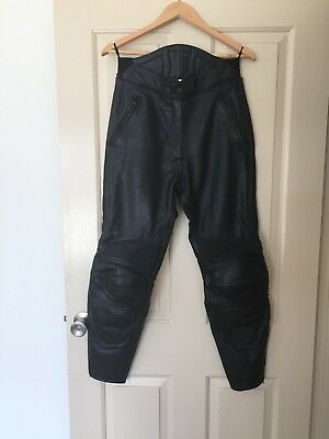 motorcycle leather pants weise size 12 top quaility