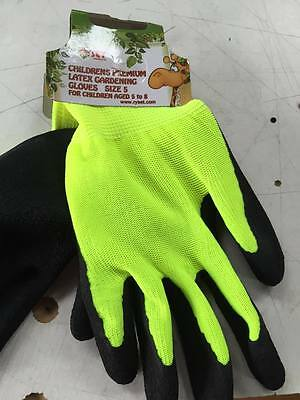 Kids gardening gloves Latex gardening gloves