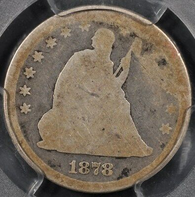 1878-Cc Pcgs Ag03 Seated Liberty Quarter Original Color