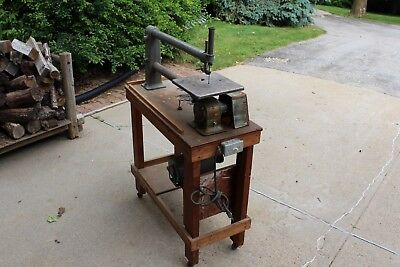 Antique 1930's Delta Dss 1. 24 In. Scroll Saw