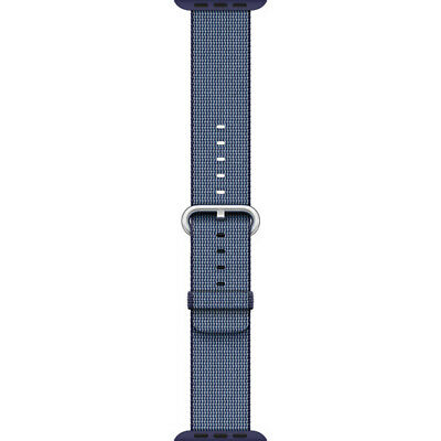 *Genuine* Apple Woven Nylon Band for 42mm Apple Watch - Midnight Blue, MPW82AM/A