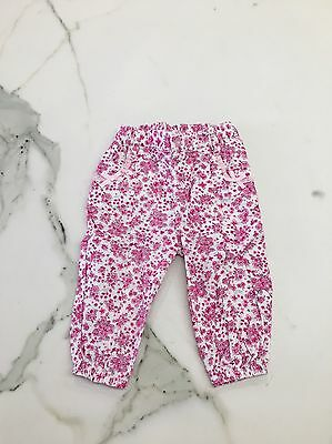 Baby Girls Size 0 Dymples Elasticised Pants Excellent Condition