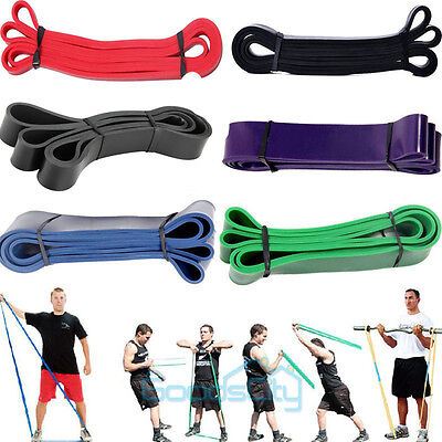 POWER GUIDANCE Pull Up Exercise Bands For Resistance Body Stretching, Fitness