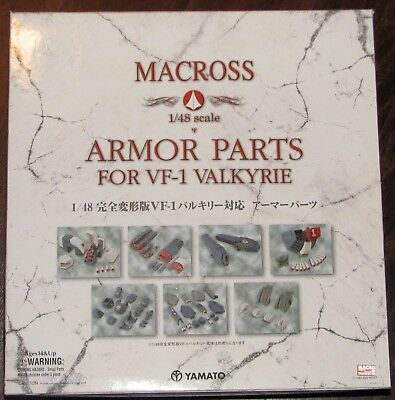 Macross VF-1 GBP Valkyrie Armor Parts Set 1/48 Scale by Yamato - US Seller