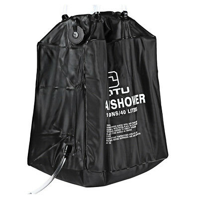 3X(AUTO 40L Solar Camping Shower Bag for Outdoor Camping and Hiking PF DP
