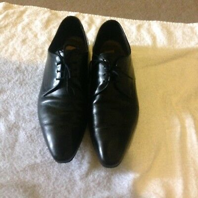 Black Leather Aquila Shoes- Like New- Size 40 (9)