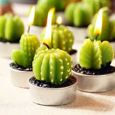 Cactus Candles for House Decoration Birthday Wedding Scented Craft candles
