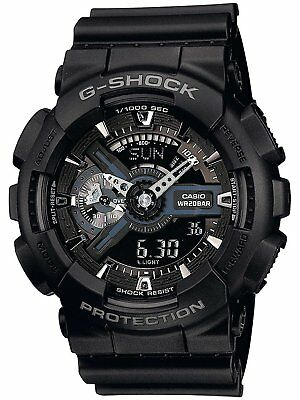 Casio G-Shock – Mens Analogue/Digital Watch with Resin Strap – GA-110-1BER