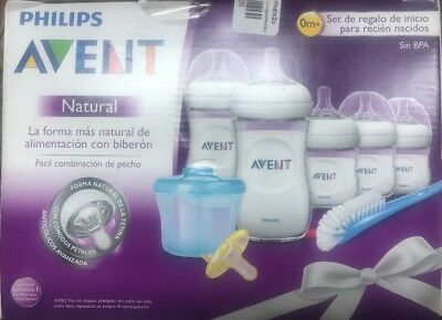 Philips Avent BPA Free Natural Newborn Starter Gift Set- New, Free Shipping