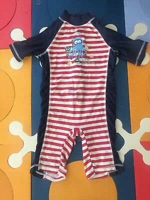 Mothercare Boys Octopus Swimsuit Size 2-3