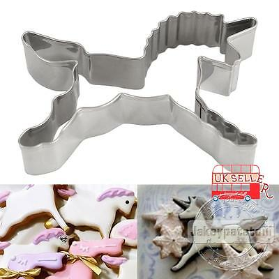 UK Horse Unicorn Cookies Cutter Mold Cake Decorating Biscuit Pastry Baking Mould