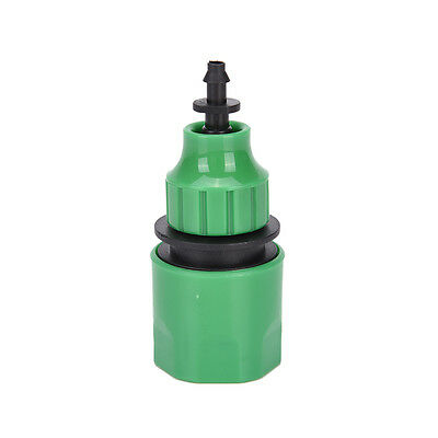 Fast Coupling Adapter Drip Tape For Irrigation Hose Connector With Garden TooWC