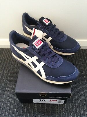 Onitsuka Tiger Dualio Shoes - Indian Ink & White - Mens Size 10US - Brand New!!!