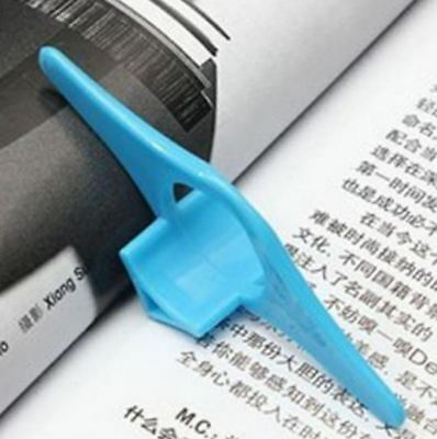 Book Thumb Convenient Multifunction Holder Page Bookmark Thing Marker Plastic