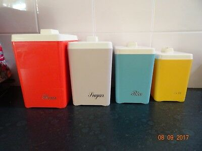 Retro Harlequin Canister Set