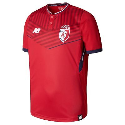 Lille Football Home Shirt 2017 18 Mens new balance