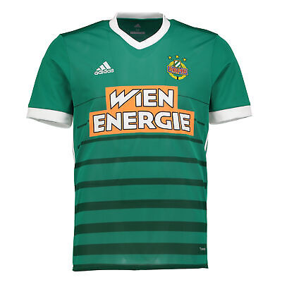 SK Rapid Wien Football Home Shirt 2017 18 Mens adidas