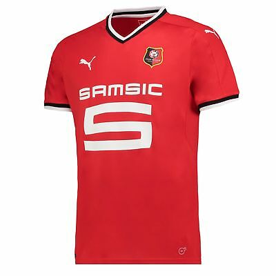 Stade Rennais FC Football Home Shirt 2017 18 Mens Puma