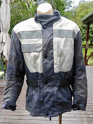 BMW Voyage 2 Motorcycle Jacket: reinforced w.body armour: Large: good condition