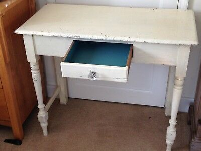 Victorian painted pine side table
