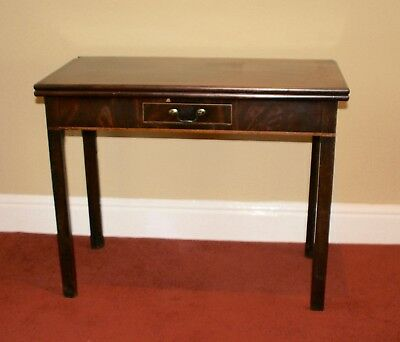 Occasional Fold-Over Table 1920-30's